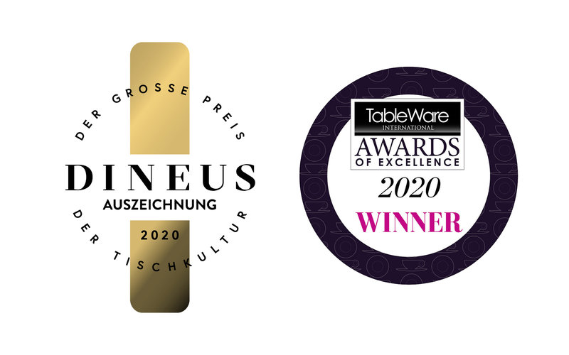 """Dineus 2020"" und dem ""Tableware International Award of Excellence"""